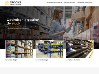 Informations sur la gestion des stocks industriels