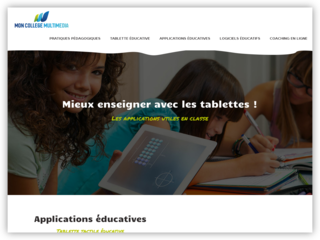 Les applications éducatives
