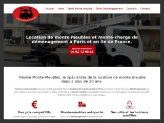 Entreprise de déménagement et de location de monte-meuble à Paris