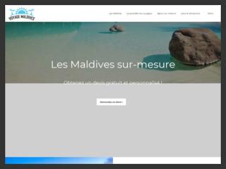 Organisez votre voyage aux Maldives