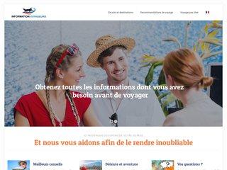 Site d'informations pour les voyageurs
