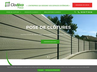 Pose clôtures