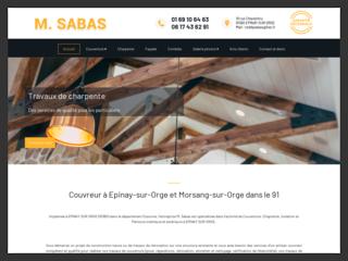 M. SABAS : Couverture charpente à Epinay sur Orge (91)