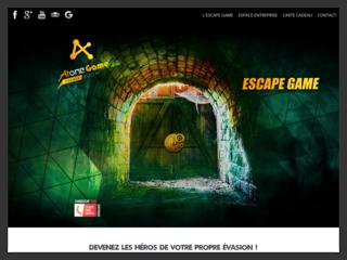 Atome Game, jeu d'evasion à Caen