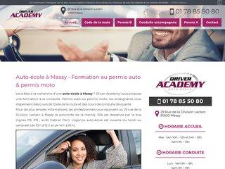 Trouver une auto-école à Massy