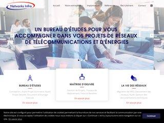 Bureau d'études de projets de réseaux de télécommunications – Networks Infra