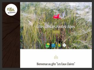 Hébergement : Les Eaux Claires à Saint-Auban-d'Oze (05)