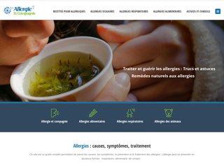 Votre guide d'information sur les allergies