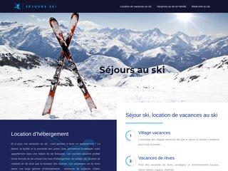 Votre séjour de vacances en ski