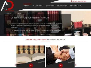 avocat faillite civile alsace moselle