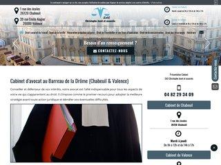 Votre cabinet d'avocat au barreau de la Drôme