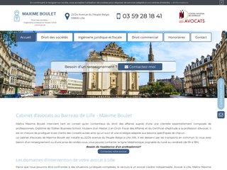Avocat en droit des sociétés au barreau de Lille