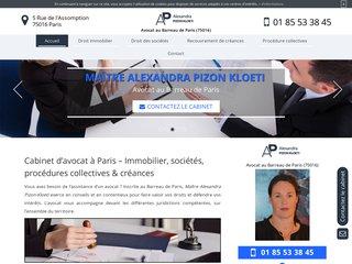 Votre cabinet d'avocat à Paris