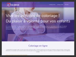 Le Coloriage, la plateforme de coloriage pour enfants et adultes