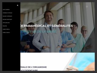 Site d'informations sur la médecine en général