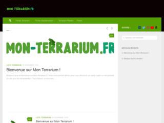 Mon Terrarium - Fiches Reptiles et Guides d'achats