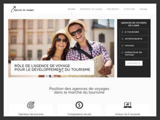 Le rôle des agences de voyages