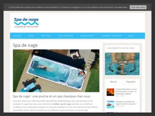 Spas de nage et bassins urbains ou design