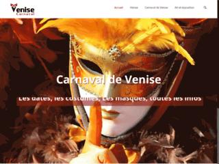 Tout sur le carnaval de Venise