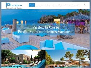 Location d'appartements pour les vacances en Corse
