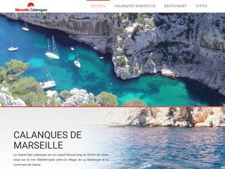 Les remarquables calanques de Marseille