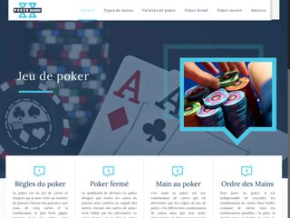 Types de mains au poker