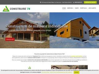 Construction : CONSTRUIRE 74 à Bellevaux (74)