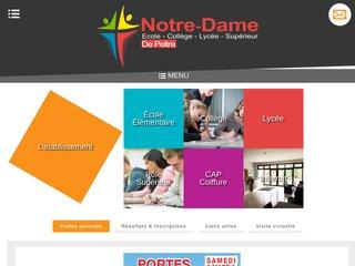école privée Metz : Ensemble scolaire Notre Dame de Peltre