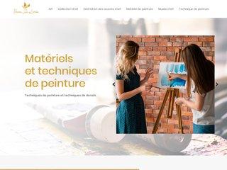 Matériels et techniques de peinture