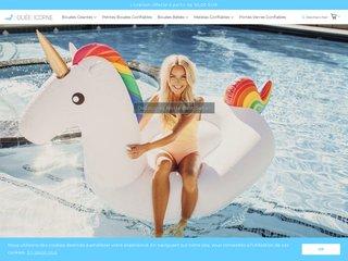 Licorne gonflable pour piscine