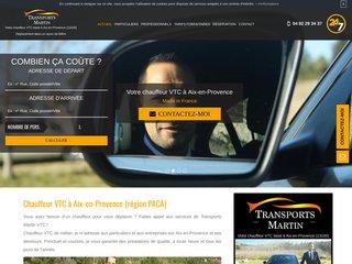 Trouver un chauffeur VTC à Aix-en-Provence