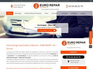 Votre garage automobile à Obernai