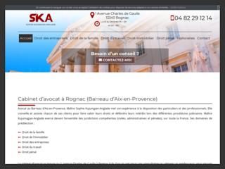 Votre cabinet d'avocat à Rognac