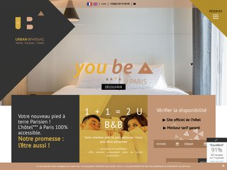 Hôtel Urban Bivouac à Paris