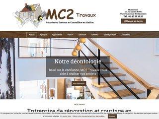 Courtier travaux : MC2 TRAVAUX à Meaux (77)
