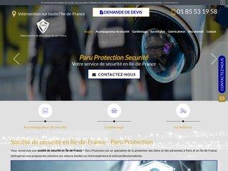 Votre société de sécurité à Ile de France