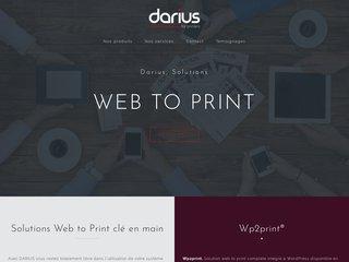 Solutions de Web to Print pour les imprimeurs