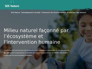 SOS Nature, blog sur la préservation de l'environnement