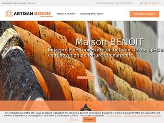 Toiture : ARTISAN BENOIT à Biot (06)