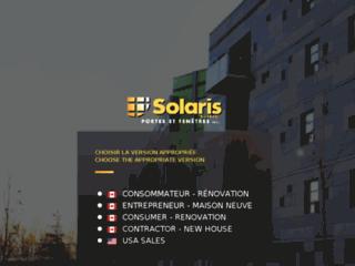 Solaris - Manufacturier Portes et Fenêtres Québec