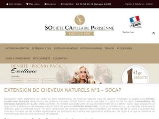 Les extensions de cheveux  naturels chez Socap France