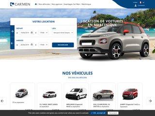 Agence location voiture Martinique - Car'Men