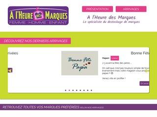 A L'Heure des Marques - vente de prêt à porter de marque en Normandie/