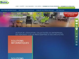 Solutions multimédia & Logiciel TICE pour l'éducation