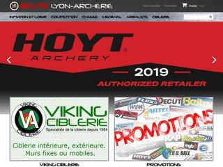 Lyon Archerie : arc a poulie