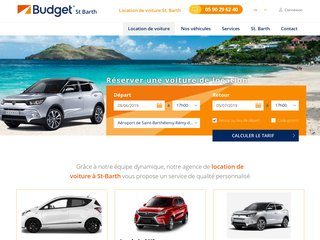 Location voiture St Barthelemy - Budget St. Barth