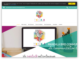 Mandala Bird Communication