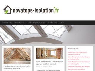 Tout savoir sur l'isolation du plafond et de la toiture