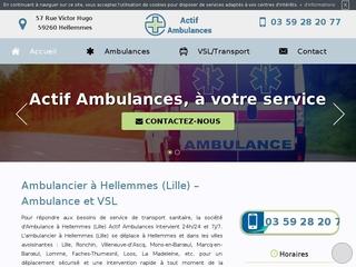Votre ambulancier à Hellemmes