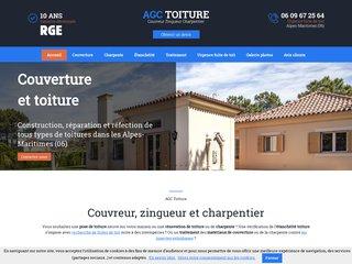 Couverture : AGC TOITURE à Chateauneuf Grasse (06)